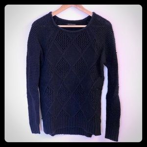 American Eagle Crew Neck Knit Sweater